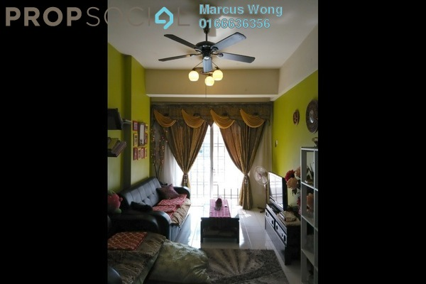 For Sale Apartment at Jalil Damai, Bukit Jalil Freehold Fully Furnished 3R/2B 430k