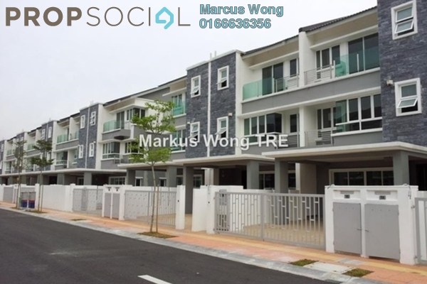For Sale Terrace at Seri Jalil, Bukit Jalil Freehold Fully Furnished 6R/7B 1.83m