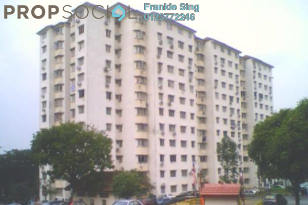 For Sale Apartment at Aman Satu, Kepong Freehold Unfurnished 3R/2B 255k