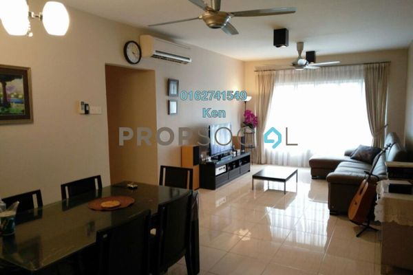 For Sale Condominium at Green Avenue, Bukit Jalil Freehold Semi Furnished 3R/2B 580k
