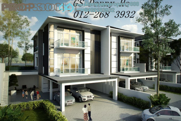 For Sale Semi-Detached at Wira Heights, Bandar Sungai Long Freehold Unfurnished 4R/6B 1.8m
