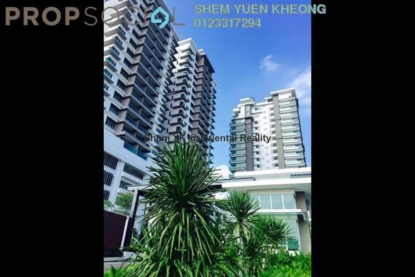 For Sale Condominium at Rimba Residence, Bandar Kinrara Freehold Semi Furnished 4R/3B 760k