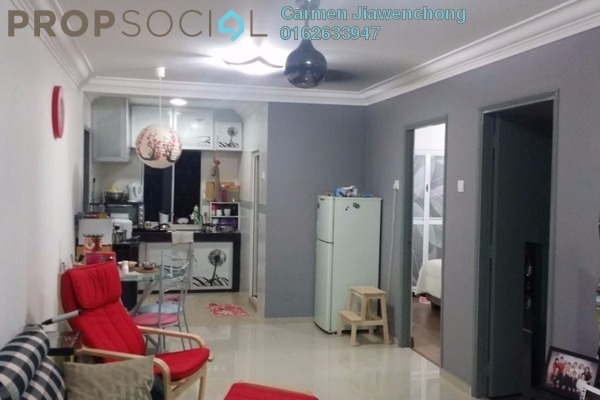 For Sale Apartment at Section 2, Wangsa Maju Leasehold Semi Furnished 3R/2B 268k