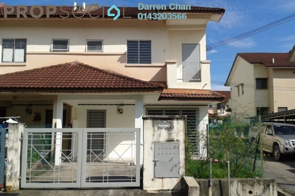For Rent Terrace at Section 4, Bandar Mahkota Cheras Freehold Unfurnished 4R/3B 1k