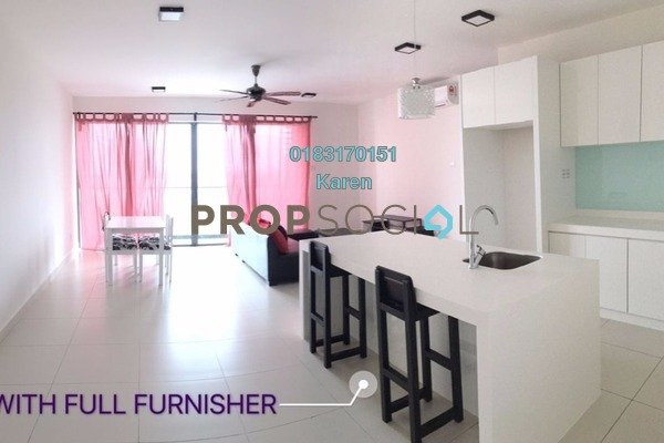 For Rent Serviced Residence at Cristal Residence, Cyberjaya Freehold Fully Furnished 3R/2B 2.35k