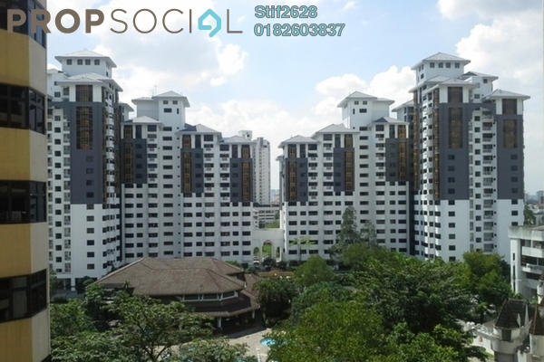 For Rent Condominium at One Ampang Avenue, Ampang Leasehold Semi Furnished 3R/2B 2k