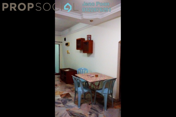 For Rent Townhouse at Happy Garden, Old Klang Road Freehold Semi Furnished 3R/2B 1.5k