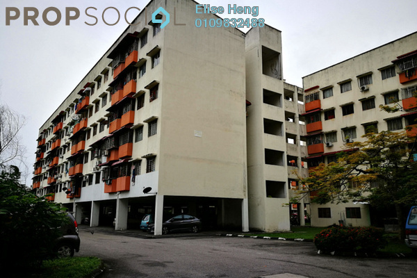 For Sale Apartment at Taman Sepakat Indah, Kajang Freehold Unfurnished 3R/2B 125k