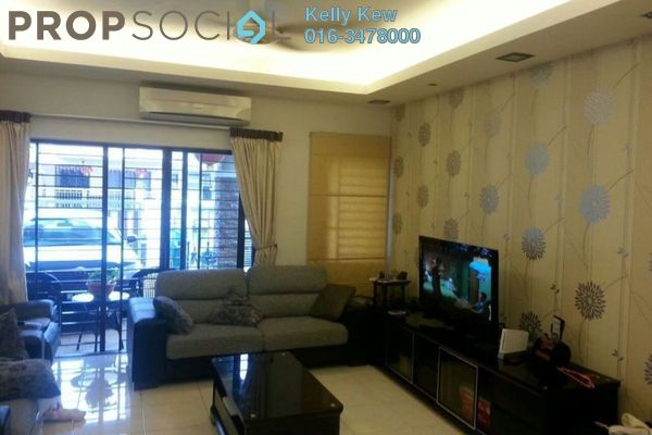 For Sale Terrace at Puteri 9, Bandar Puteri Puchong Freehold Fully Furnished 5R/4B 1.1m