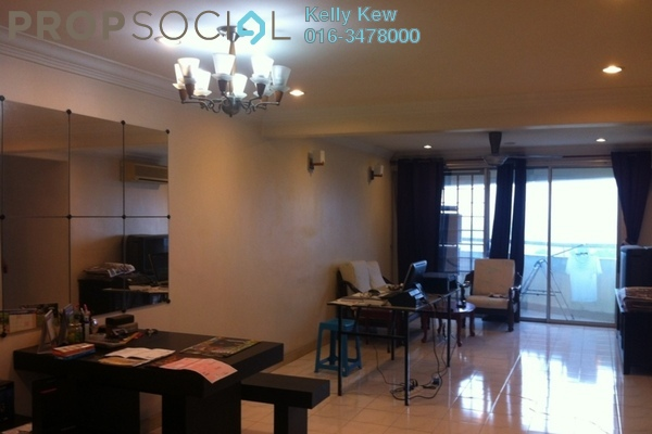 For Sale Apartment at D'Aman Crimson, Ara Damansara Freehold Semi Furnished 3R/2B 550.0千