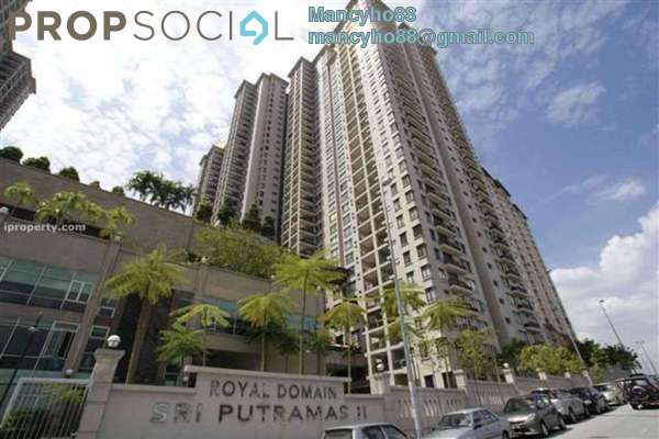 For Sale Condominium at Sri Putramas II, Dutamas Freehold Semi Furnished 4R/2B 538k