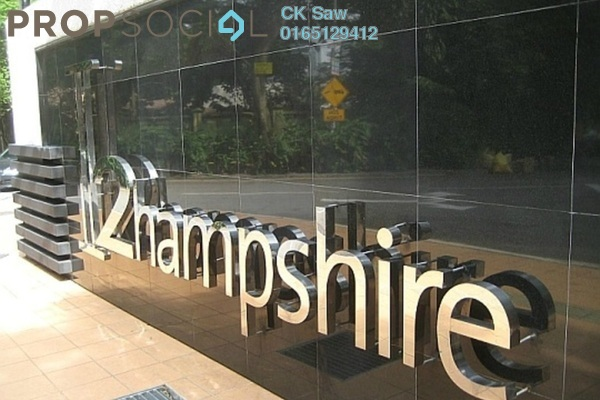 For Rent Condominium at 2 Hampshire, KLCC Freehold Fully Furnished 4R/5B 6.8k