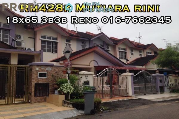 For Sale Terrace at Taman Mutiara Rini, Skudai Freehold Semi Furnished 3R/3B 428k