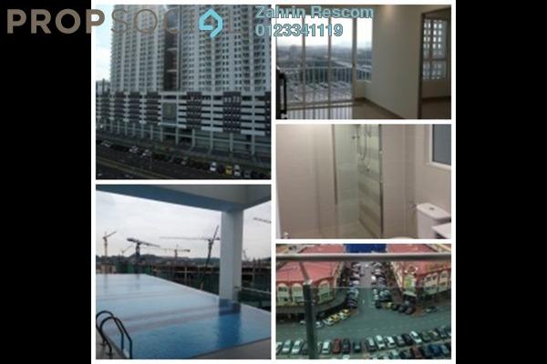 For Sale Apartment at Menara U2, Shah Alam Leasehold Semi Furnished 2R/1B 340k