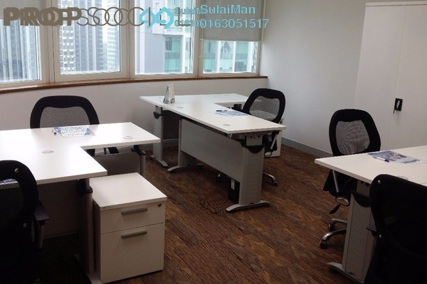 For Rent Office at Etiqa Twins, KLCC Freehold Fully Furnished 0R/0B 900translationmissing:en.pricing.unit