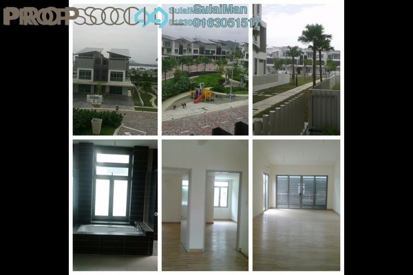 For Rent Superlink at D'Island, Puchong Leasehold Unfurnished 6R/6B 2k