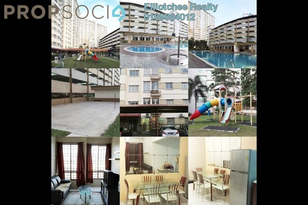 For Sale Condominium at Taman Bukit Serdang, Seri Kembangan Freehold Semi Furnished 3R/2B 309k