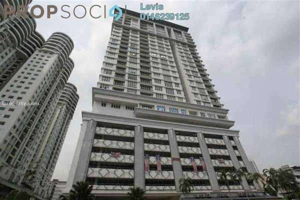 For Sale Condominium at Scott Sentral, Brickfields Freehold Unfurnished 3R/2B 870k