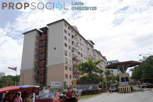 For Sale Condominium at Petaling Indah, Sungai Besi Leasehold Semi Furnished 2R/2B 300k