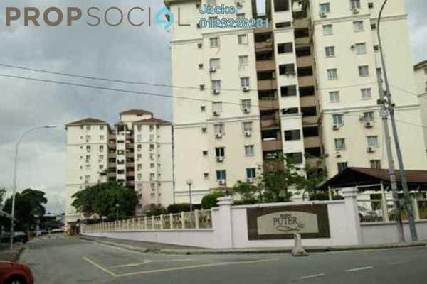 For Rent Condominium at Pandan Puteri, Pandan Indah Leasehold Semi Furnished 3R/2B 1.55k