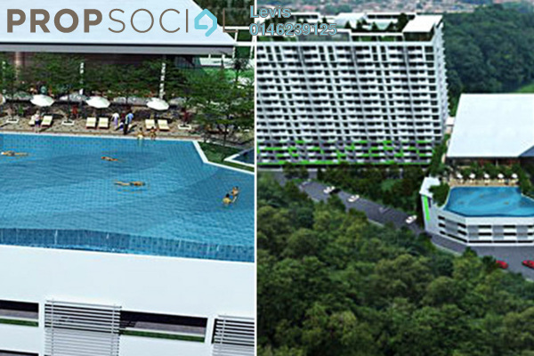 For Sale Condominium at Panorama Residences, Sentul Freehold Unfurnished 3R/2B 500k