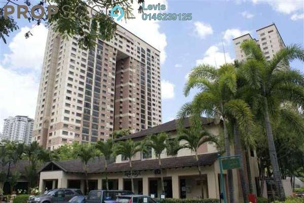 For Rent Condominium at Vista Kiara, Mont Kiara Freehold Fully Furnished 3R/2B 2.4k
