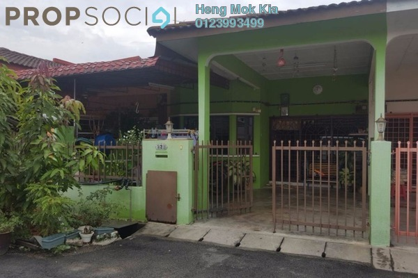 For Sale Terrace at Kampung Jawa, Shah Alam Freehold Semi Furnished 4R/2B 298k