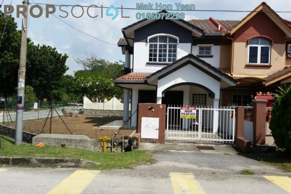 For Sale Terrace at BP2, Bandar Bukit Puchong Freehold Semi Furnished 4R/3B 668k