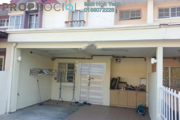 For Sale Terrace at PU8, Bandar Puchong Utama Freehold Semi Furnished 4R/3B 595k