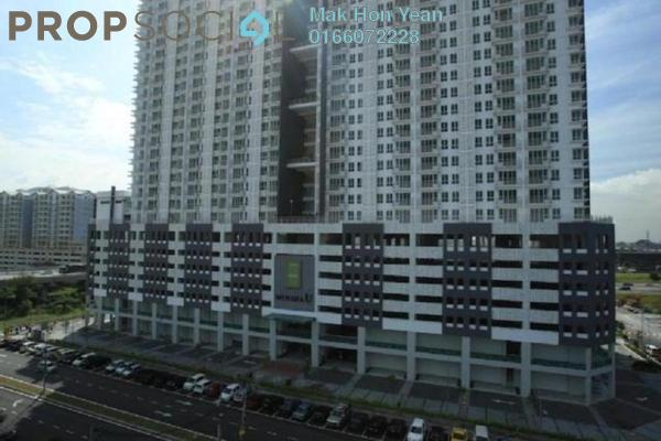 For Sale Condominium at Menara U, Shah Alam Leasehold Semi Furnished 2R/1B 338k