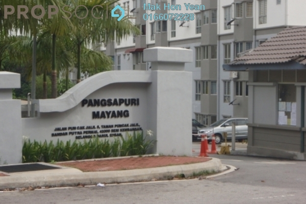 For Sale Apartment at Mayang Apartment, Bandar Putra Permai Leasehold Unfurnished 3R/2B 300k
