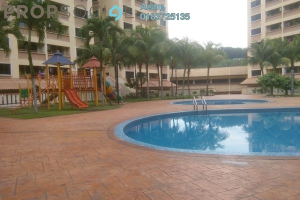 For Sale Condominium at Putra Villa, Gombak Freehold Semi Furnished 3R/2B 520k