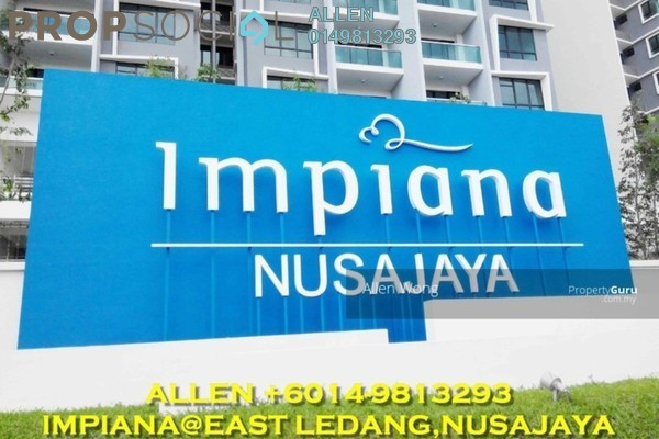 For Rent Condominium at Impiana Residences, Iskandar Puteri (Nusajaya) Freehold Fully Furnished 3R/3B 2.3k