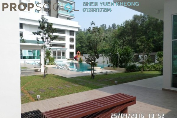 For Sale Condominium at Rimba Residence, Bandar Kinrara Freehold Semi Furnished 4R/3B 800k