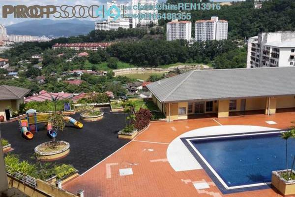 For Sale Condominium at Ketumbar Heights, Cheras Freehold Semi Furnished 3R/2B 325k
