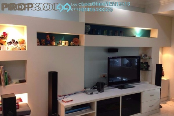 For Sale Terrace at Taman Bukit Angsana, Cheras South Leasehold Semi Furnished 4R/3B 630k