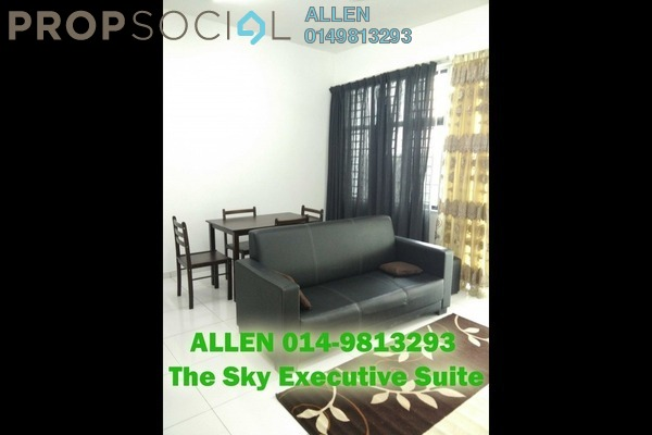 For Rent Serviced Residence at The Sky Residence, Cheras Freehold Semi Furnished 1R/2B 1.6k