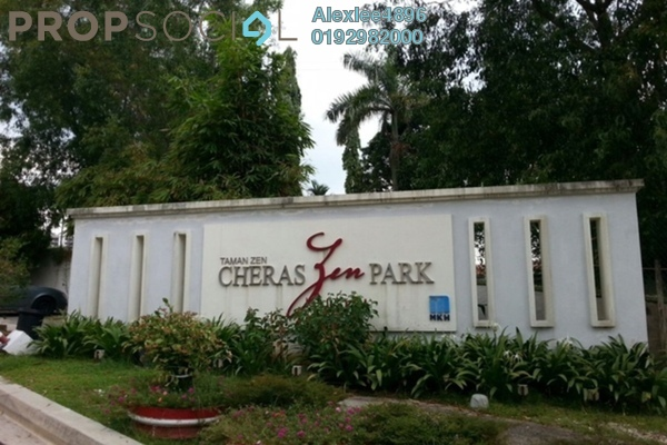 For Sale Semi-Detached at Zen Park, Cheras Freehold Semi Furnished 6R/5B 1.9m