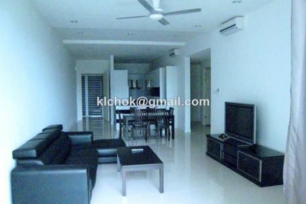 For Sale Condominium at The Park Residences, Bangsar South Leasehold Semi Furnished 3R/2B 1.19m