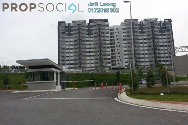 For Rent Apartment at Suria Ixora, Setia Alam Freehold Semi Furnished 3R/2B 700translationmissing:en.pricing.unit