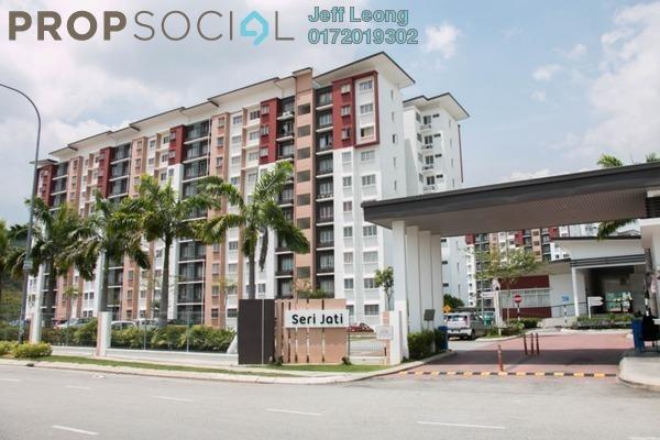 For Rent Apartment at Seri Jati Apartment, Setia Alam Freehold Semi Furnished 3R/2B 700translationmissing:en.pricing.unit