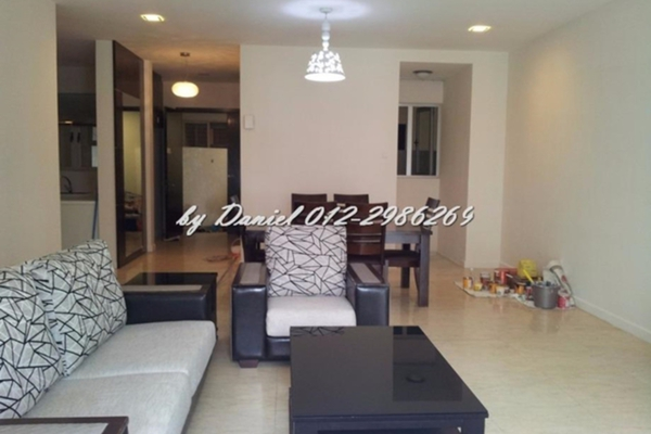 For Sale Condominium at Idaman Residence, KLCC Leasehold Semi Furnished 3R/3B 1.56m
