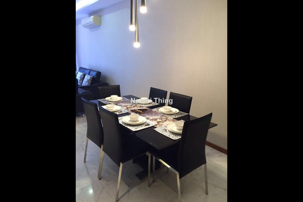 For Rent Condominium at Twins, Damansara Heights Freehold Semi Furnished 3R/4B 4.2k