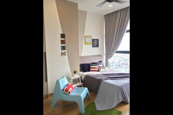 For Rent Condominium at Mirage Residence, KLCC Freehold Semi Furnished 2R/2B 5k