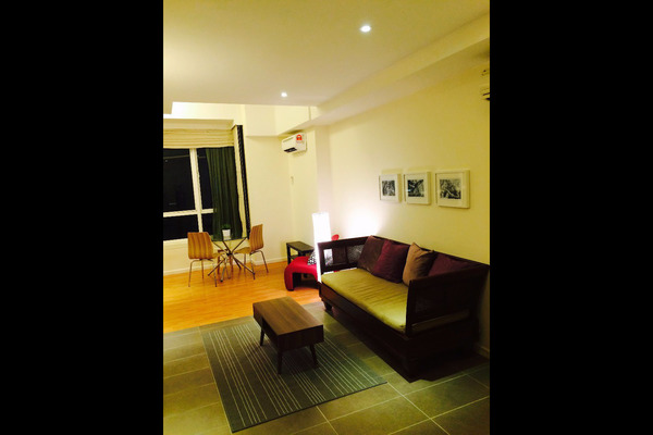For Rent SoHo/Studio at Park View, KLCC Freehold Unfurnished 0R/1B 2k