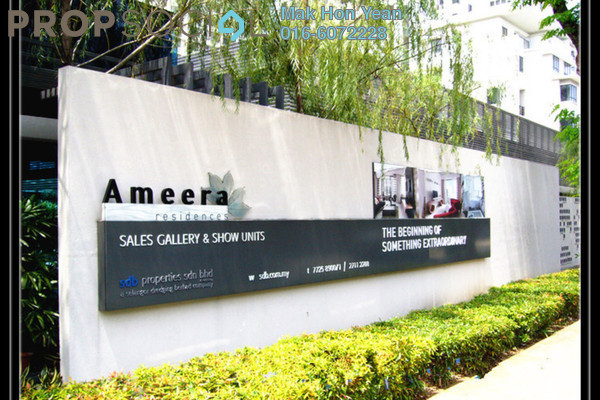 For Rent Condominium at Ameera Residences, Petaling Jaya Freehold Semi Furnished 4R/3B 2.8k