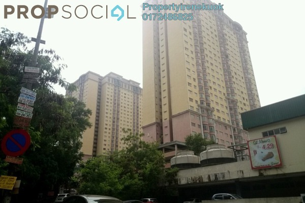 For Sale Condominium at Angkasa Condominiums, Cheras Freehold Fully Furnished 3R/2B 435k