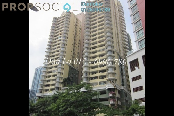 For Sale Condominium at Menara Pelangi, Brickfields Freehold Fully Furnished 3R/4B 545k