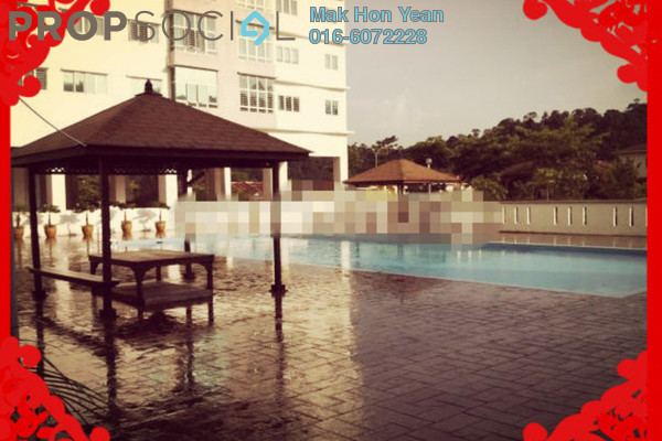 For Rent Condominium at Sierra Residency, Bandar Kinrara Freehold Fully Furnished 3R/2B 1.5k