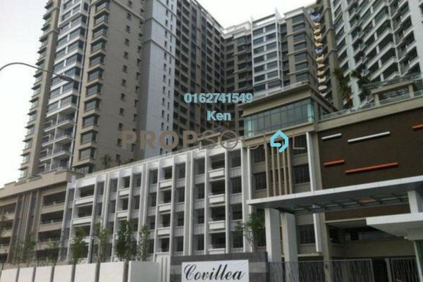 For Sale Condominium at Covillea, Bukit Jalil Freehold Fully Furnished 3R/3B 900k
